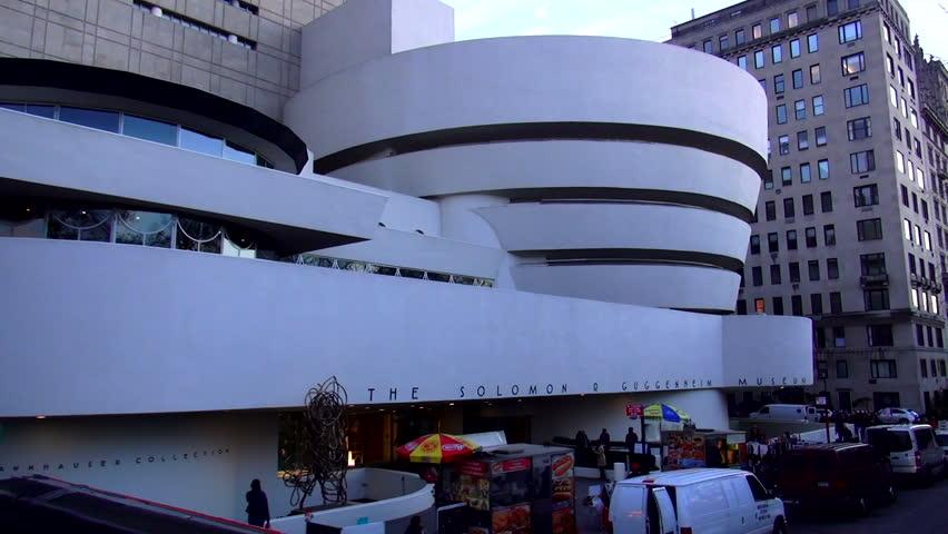 The Solomon Guggenheim Museum New York – MANHATTAN, NEW YORK/USA NOVEMBER 20, 2013