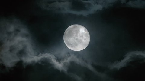 Dramatic Full Moon