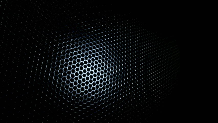 dark metal background with perforated holes stock footage
