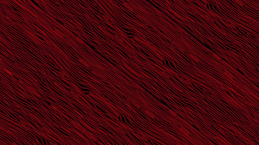 Hand Sketched Cartoon Red Lines Background in Stop Motion | Shutterstock HD Video #14737315