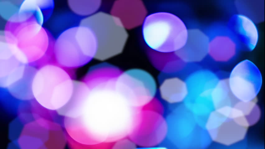 Colorful Disco Mirror Balls Background With Bokeh