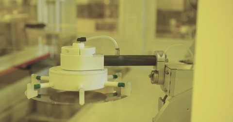 Silicon wafer production process, in a semiconductors manufacturing facility