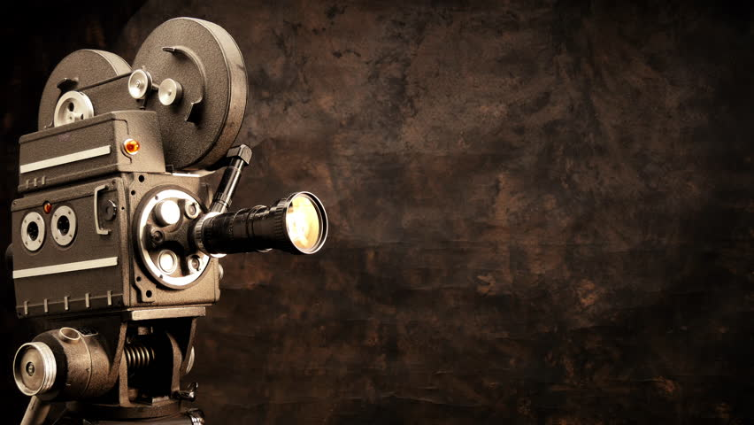 Vintage Hollywood Movie Camera in Stock Footage Video (100% Royalty-free)  14759545 | Shutterstock