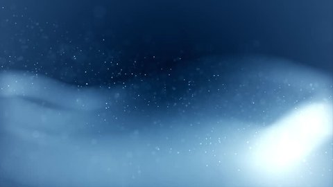 Stock footage & visuals featuring soft glowing light white & blue energy cloud or smoke with bokeh orb shaped particle motion background. For LED installations, club visuals or editing projects.