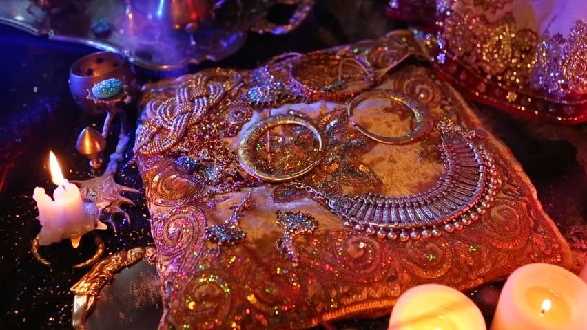 Indian Wedding Preparation Luxury Oriental Fashion Accessories Female Foot Beautiful National Bridal