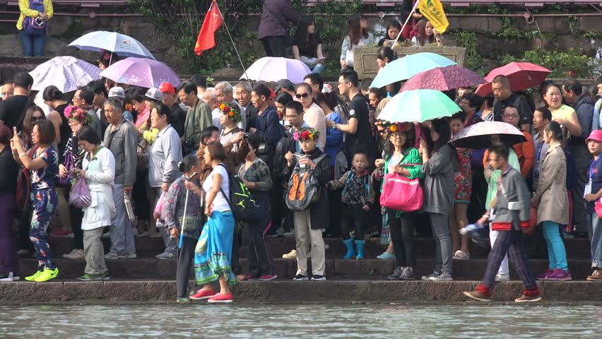 7b1736cbe Fenghuang, China - 20 September Stock Footage Video (100% Royalty-free)  14895295 | Shutterstock
