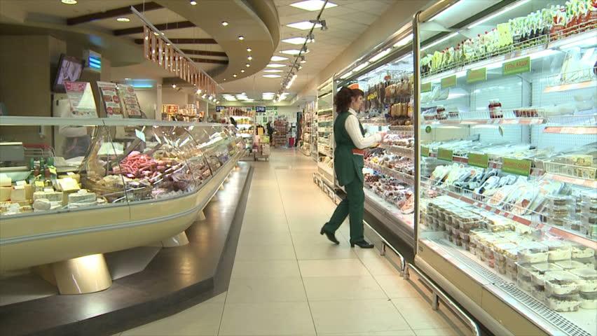 stock video clip of paris france june 18 modern shopping