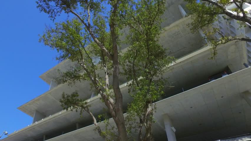 Modern Architecture Videos miami beach - march 3: motion video of the lincoln road promenade