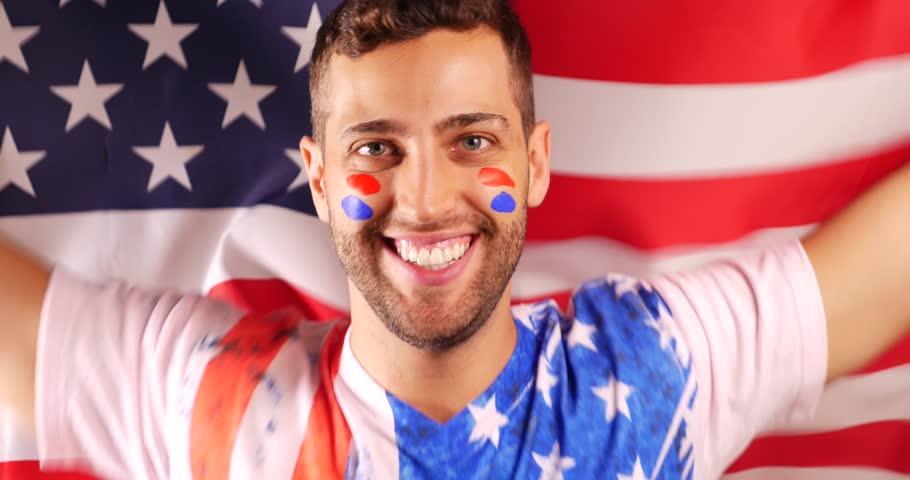 an american guy