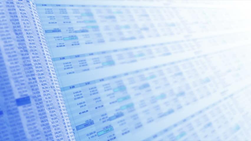 Financial, business or scientific figures, LOOP, 4k - Ultra HD. | Shutterstock HD Video #15235369