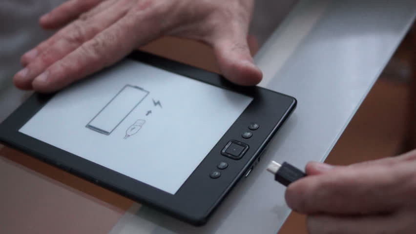 Amazon Kindle E-reader with Low Stock Footage Video (100
