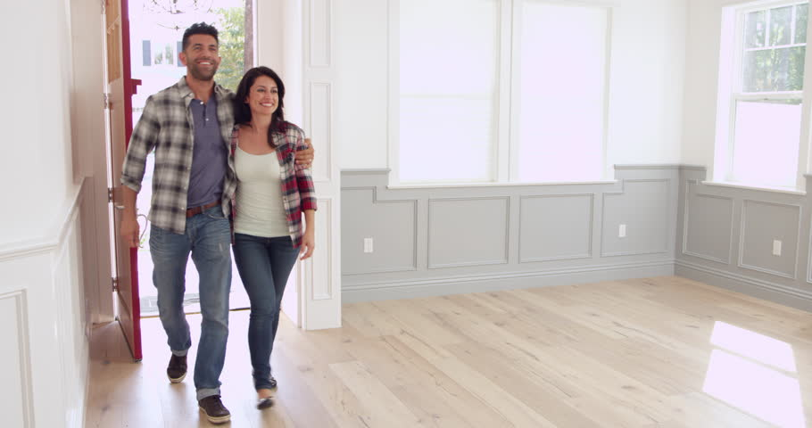 Hispanic Family Moving Into New Home Shot On RED Camera