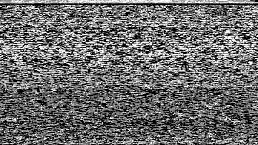 Tv snow static noise black and white stock footage video 15355798 shutterstock - What is tv static ...