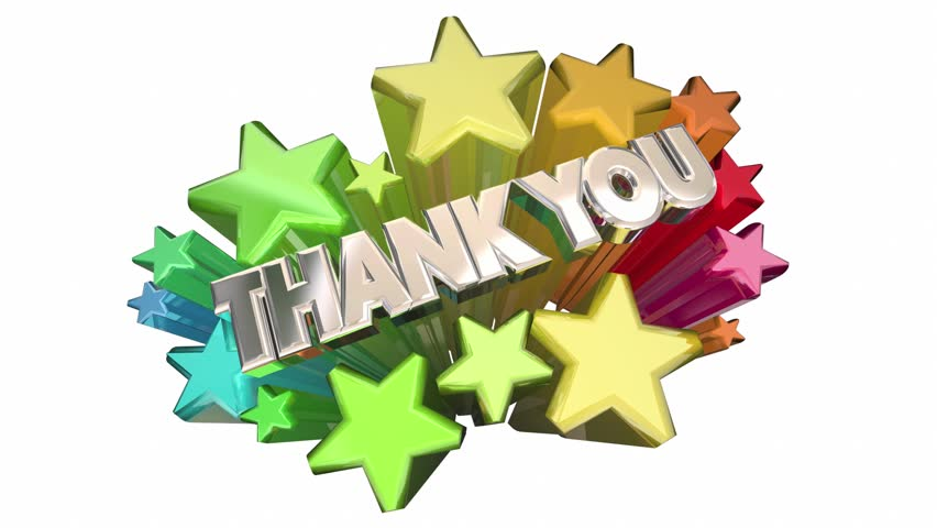 Image result for Thank you with stars