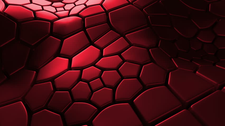 Abstract 3d loopable background with extruded polygons | Shutterstock HD Video #15365752