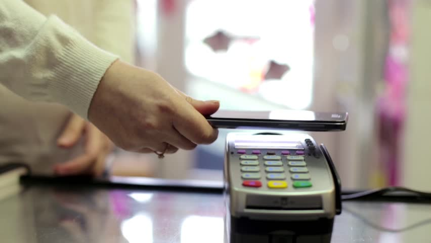 Using Credit Card Terminal with PIN in Store | Shutterstock HD Video #15700933