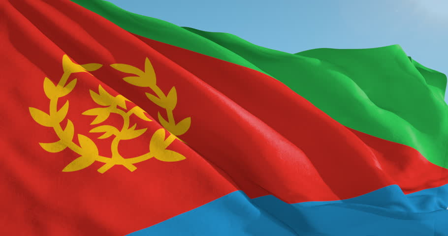 Image result for photo of Eritrean flag
