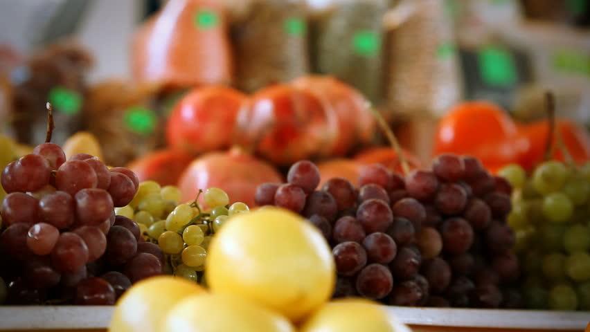 Healthy fruits food   Shutterstock HD Video #15835645