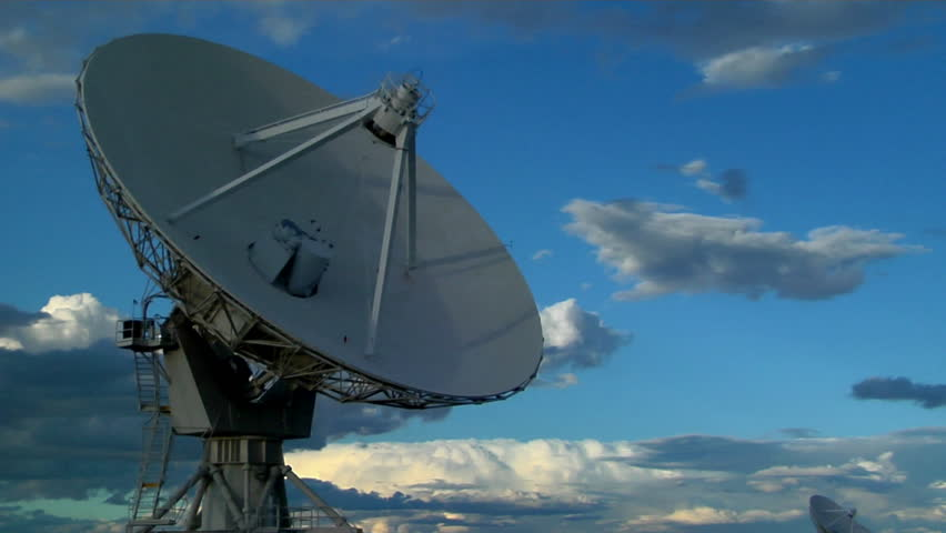 Array Of Satellite Dishes Stock Footage Video 1583659 ...