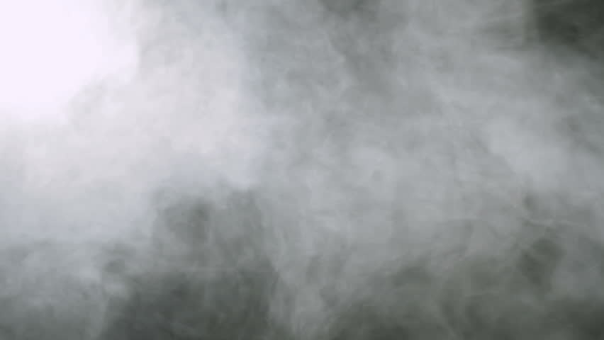 Smoke background. Abstract smoke cloud. Smoke in slow motion on black background. White smoke slowly floating through space against black background. Smoke effect. Fog effect. Smoke machine