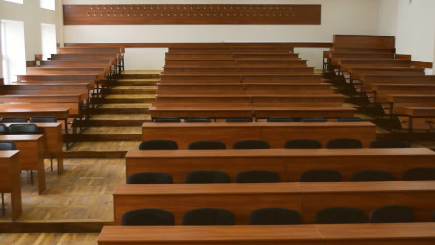 Astonishing Empty Auditorium For Lectures Brown Stock Footage Video 100 Royalty Free 16059265 Shutterstock Pdpeps Interior Chair Design Pdpepsorg