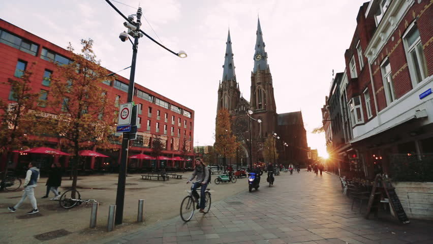 Roman Catholic Church of Sint-Catharina Kerk (Eindhoven), Holland. December 27th, 2015