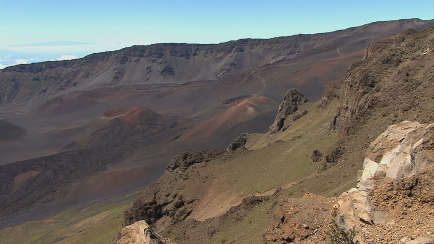 October 2011 hawaii view from haleakala volcano stock footage october 2011 hawaii view from haleakala volcano hd stock footage clip publicscrutiny Image collections