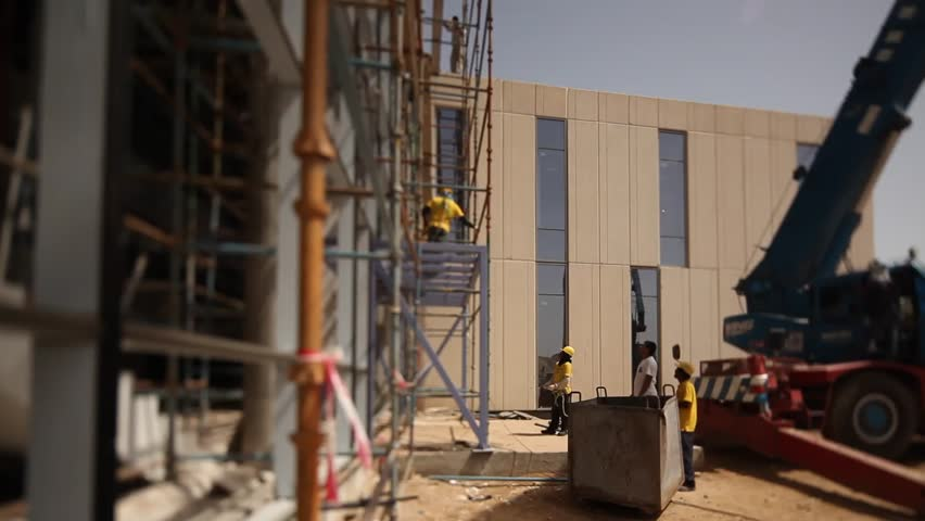 Construction Site, Riyadh, Saudi Arabia  Stock Footage Video (100%  Royalty-free) 16186045 | Shutterstock