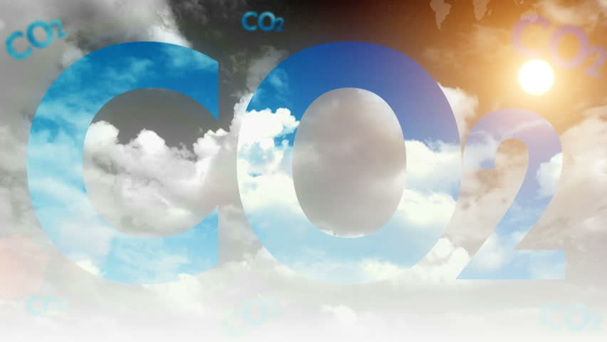 Carbon dioxide cloud time-lapse