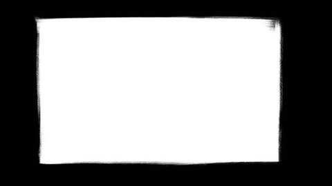 Transition for postproduction - Hand drawn sketchy reveal - wipe. Freehand, HD, universal asset for video editing, diagonal
