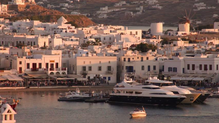Mykonos,Greece   Shutterstock HD Video #16347625