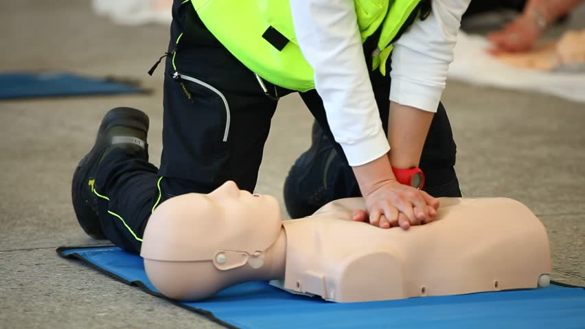 First Aid Cardiopulmonary Resuscitation, How to do the CPR Technique.
