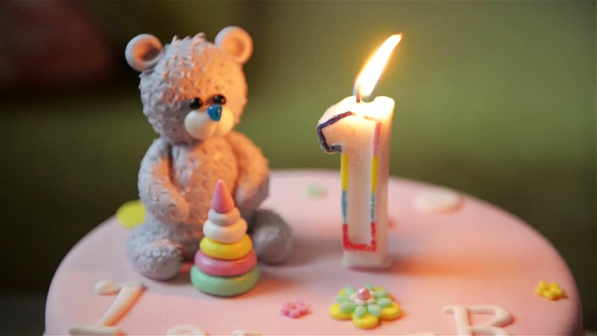Birthday Cake Baby And Mother Stock Footage Video 100 Royalty