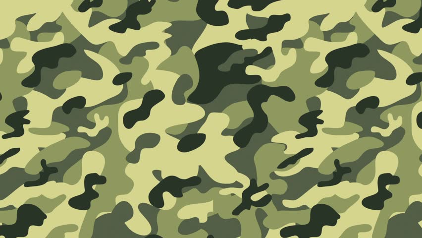 Stock Video Clip of Background animation spots camouflage ...