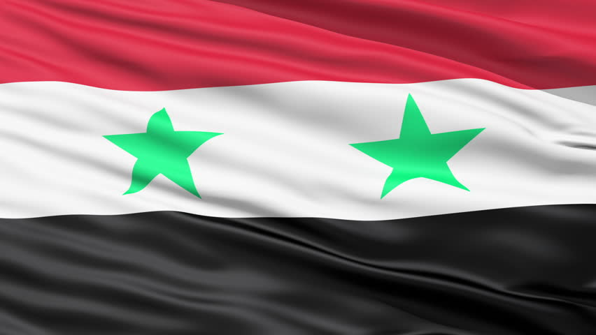 Waving Flag Of Syria With Stock Footage Video 100 Royalty Free 1664395 Shutterstock