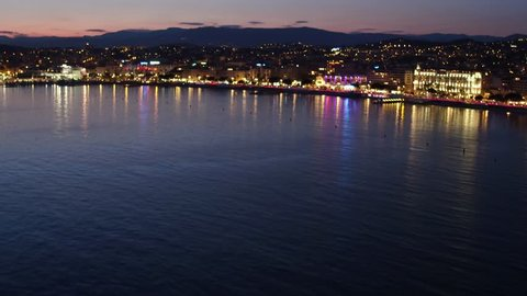Cannes, night, Provence-Alpes-Côte d'Azur, French Riviera