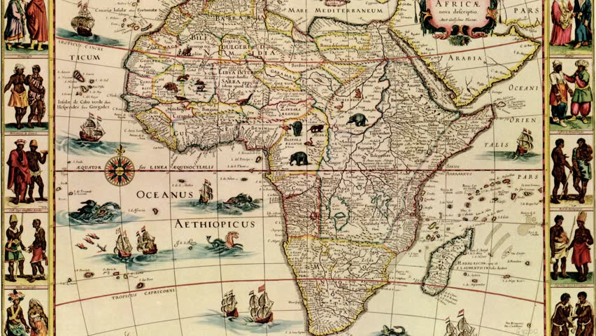 Antique Map of Africa, Zoom Stock Footage Video (100% Royalty-free) on large map of asia, google map of asia, political features of asia, pdf map of asia, physiographic map of asia, spanish map of asia, zoom map of asia, interactive map of asia,