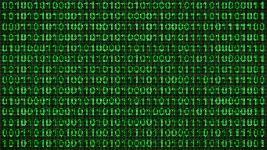 Binary Code Wall Animation Stock Footage Video 3191083 | Shutterstock