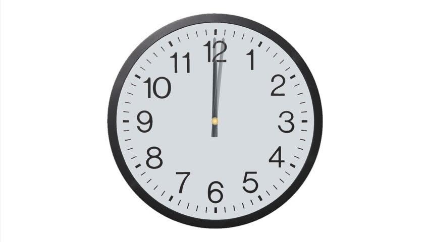 Clock Time Lapse (HD)