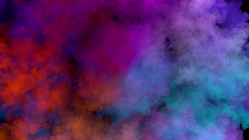 Different Colors Of Ink In Water Abstract Background Slow ...