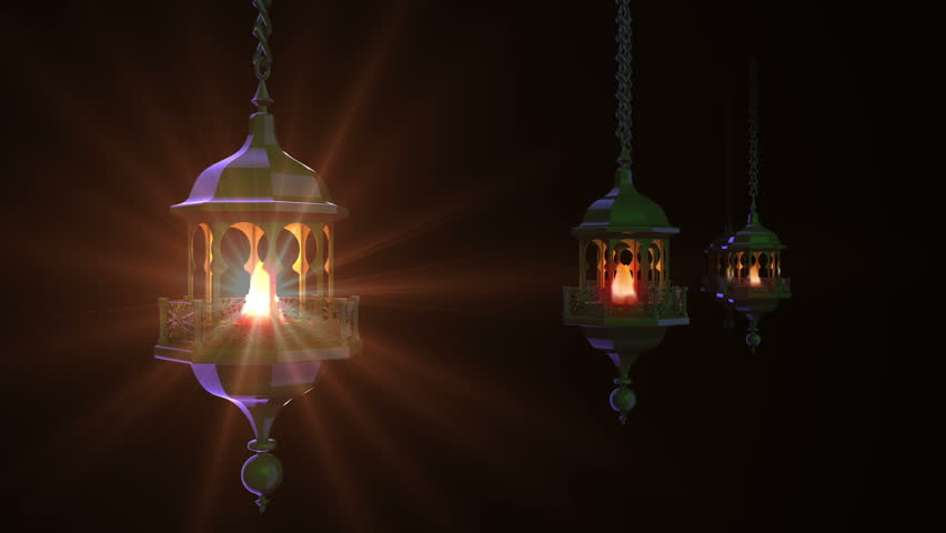 3d Muslim Oil Lamp Ramadan Stock Footage Video 14508511 Shutterstock