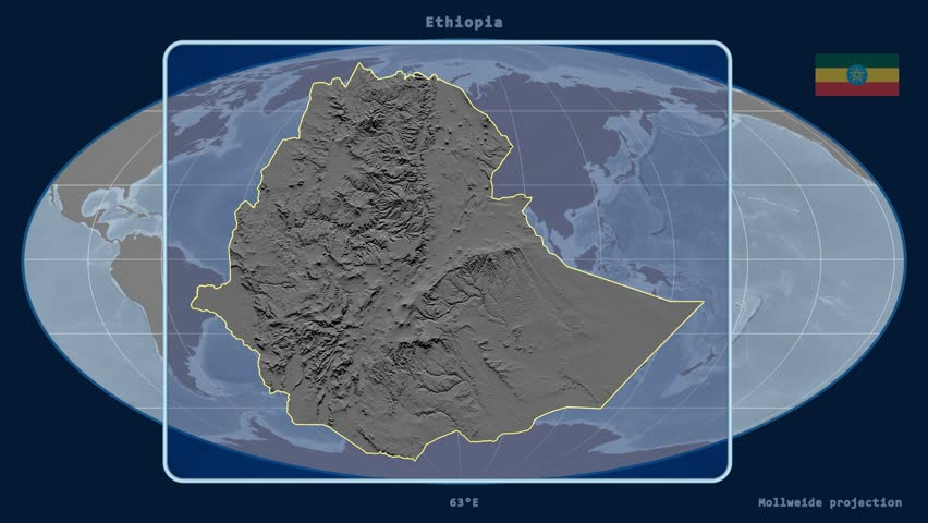 World map with close up in pushpin in paris france 3d rendering zoomed in view of a ethiopia outline with perspective lines against a global elevation map gumiabroncs Image collections