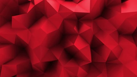 abstract 3d rendering background with displaced surface, loopable