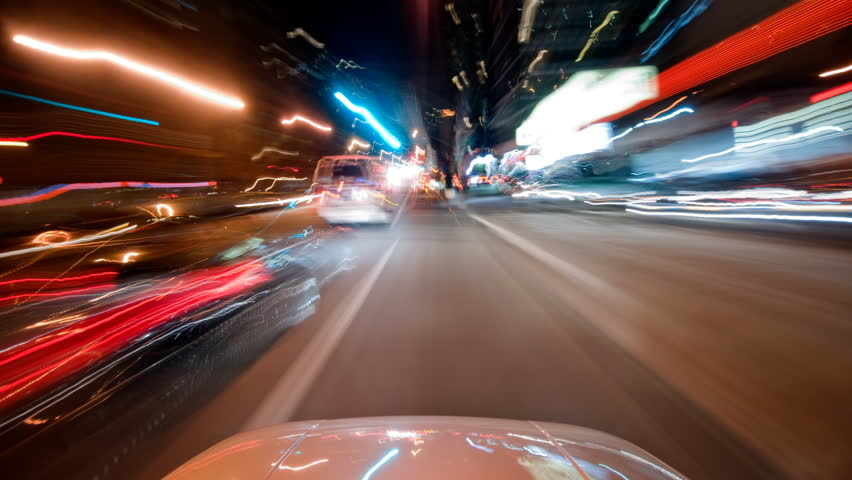POV New York City time lapse driving | Shutterstock HD Video #1698802