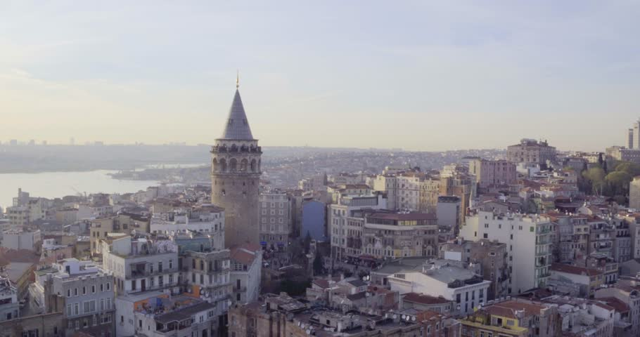 4K istanbul city - Galata -1 | Shutterstock HD Video #17147515