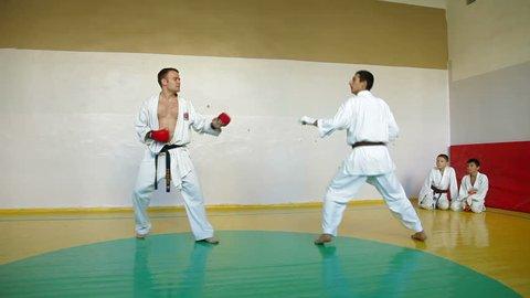 Karate Fight Stock Footage Video (100% Royalty-free) 1717225 | Shutterstock