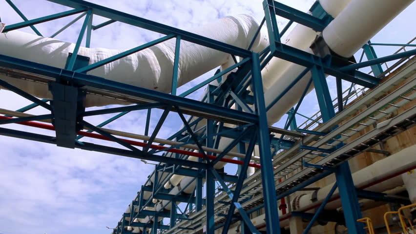 ISRAEL - FEB 2011: footage of a desalination plant in Israel