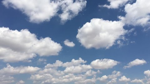 blue sky and clouds sky,Beautiful white clouds soar across the screen in time lapse fashion over a deep blue background,Cumulus clouds form against a brilliant blue sky,clouds with blue sky air form,