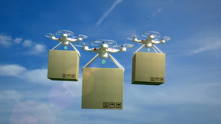 Dji Drone In Flight Image Free Stock Photo Public
