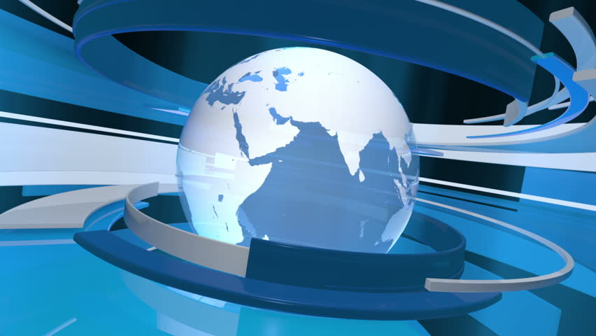 stock video of global technology 3d world animation hd